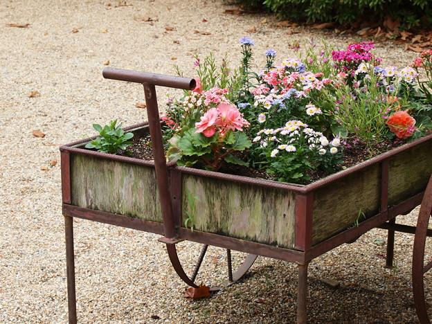 バガテル公園の花車