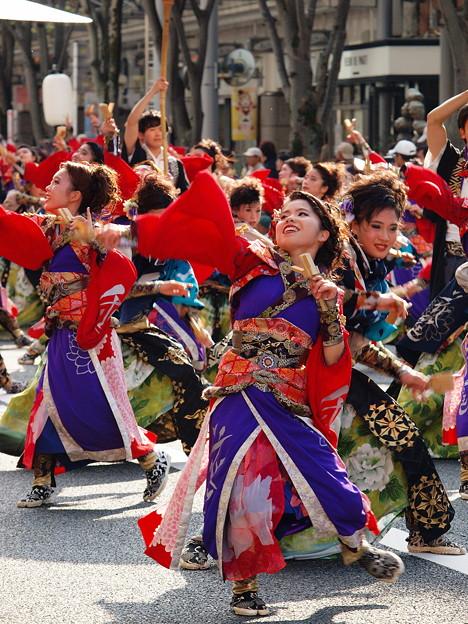 よさこい東海道 2018~前日祭に舞う -d