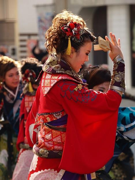 よさこい東海道 2018 前日祭に舞う -b