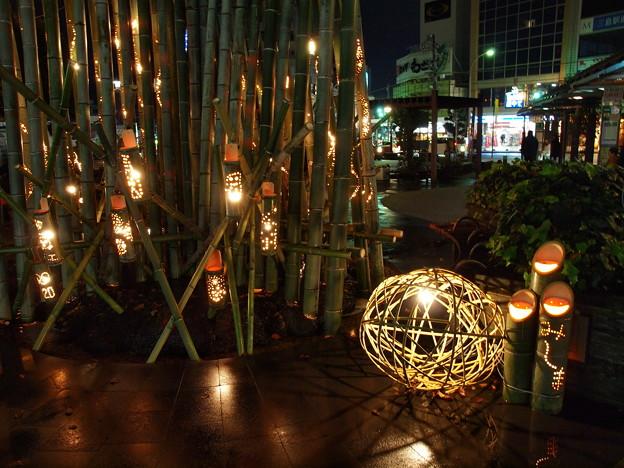 みしま竹あかり、今年も灯りました