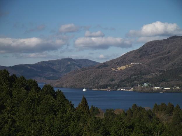芦ノ湖の碧