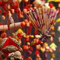 Photos: 雛の館の吊るし飾り