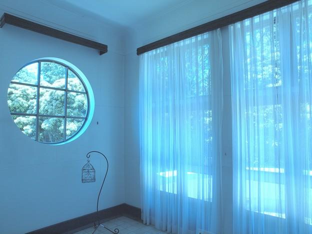 初夏の窓辺