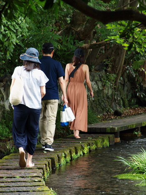 Photos: 皆で歩く
