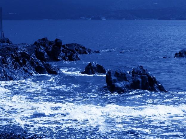 台風15号接近中^^;