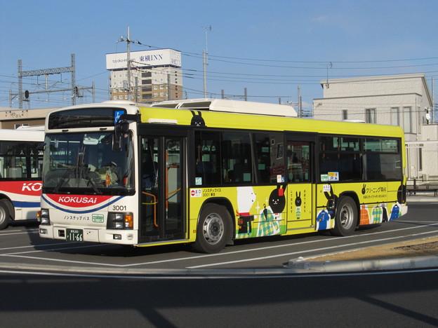 【国際十王交通】 3001号車