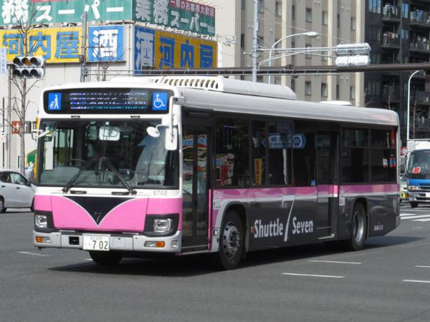 【京成バス】 E702号車