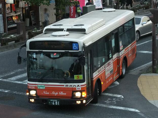 【東武バス】 5035号車