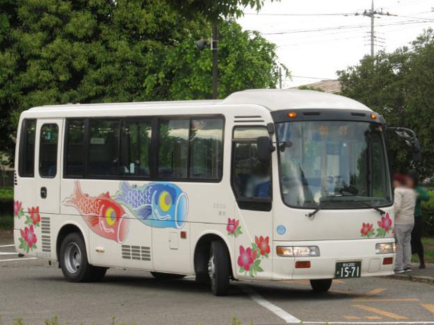 【朝日バス】 3035号車