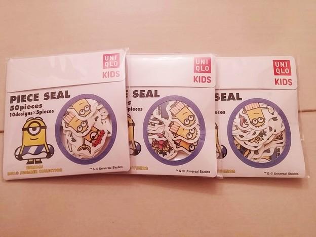 ユニクロ UTミニオンズ ベロー サマー コレクション購入2点で貰えるシール