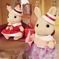 Photos: WE LOVEシルバニアファミリー 付録のみるくウサギの女の子
