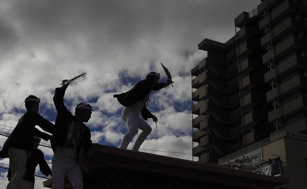 Photos: だんじり