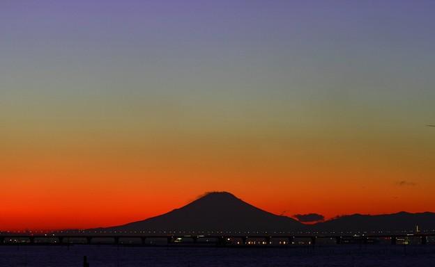 レインボ-富士