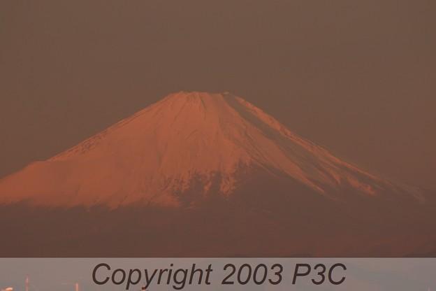 Photos: 赤富士(ZOOM)