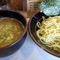 写真: 味噌つけ麺@寸八・松本市
