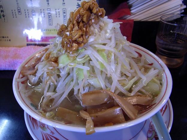 風神麺・並・野菜増し@神屋(GOD-YA)・筑西市