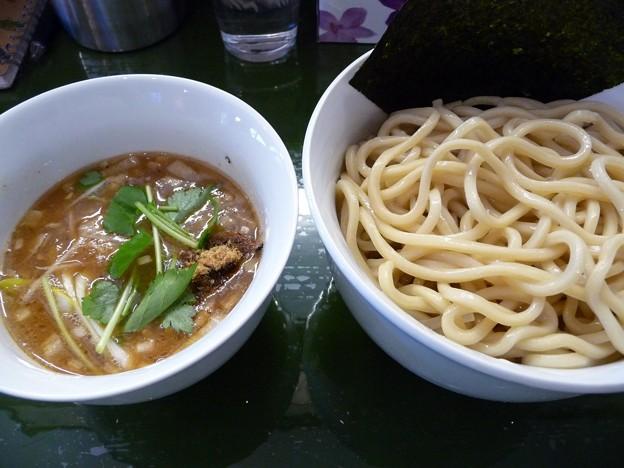 つけ麺・大盛@MIWA69'n・山梨県富士河口湖町