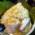 らー麺・ニンニクあり・背油増し・100g麺増し+ヤサイ増し+のり@愛0028・広島市安佐南区