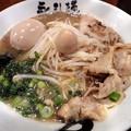 サンマらーめん塩+半熟味付トロッ玉子@永斗麺・広島市中区