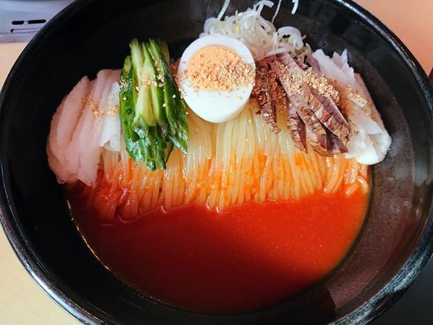 ビビン麺・大盛り@髭・盛岡市