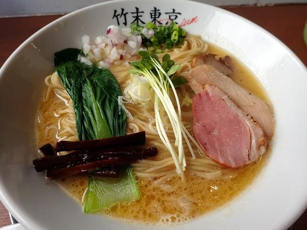 鶏そば@竹末東京Premium・墨田区押上