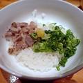 Photos: 鴨雑炊丼(小)@満鶏軒・墨田区錦糸町