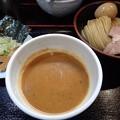 写真: 味玉つけ麺@縁道・江東区門前仲町