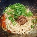 写真: 広島式汁なし担担麺・2辛@キング軒銀座出張所・中央区銀座
