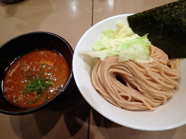 海老つけ麺@五ノ神製作所・渋谷区新宿