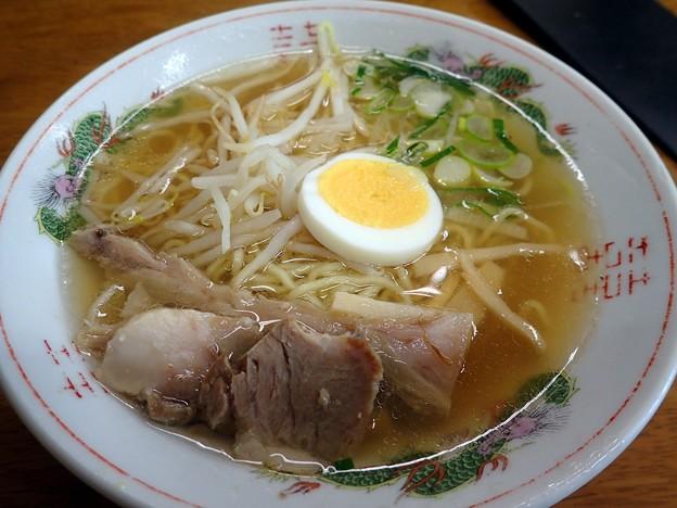 牛骨ラーメン・並@香味徳赤碕店・鳥取県琴浦町