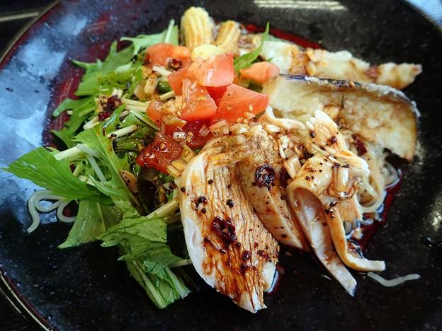 よだれ鶏冷麺@餃子の王将津山店・津山市