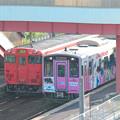写真: 浜村駅 H30,5,26