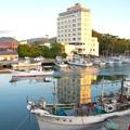 写真: 港の朝 H30,6,17