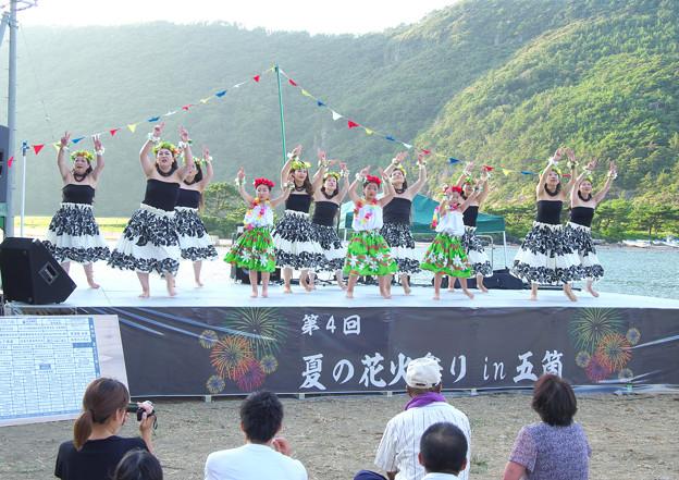 写真: 夏の花火祭り(6)H30,8,11