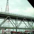 Photos: 境港大橋麓の眺め(バスの窓から)H30,9,24