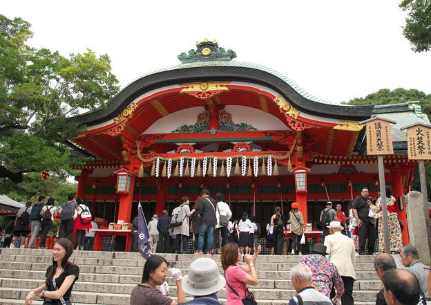 伏見稲荷大社(4)本殿 H30,9,25