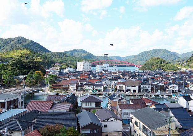港の風景(12) 港町の家並 H30,10,29