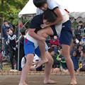 五箇地区相撲大会(4)女の子も(2)H30,11,3