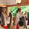 玉若酢命神社御霊会風流(7)浦安の舞(1)