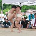 全隠岐相撲選手権大会(1)小学校1年生の取り組み