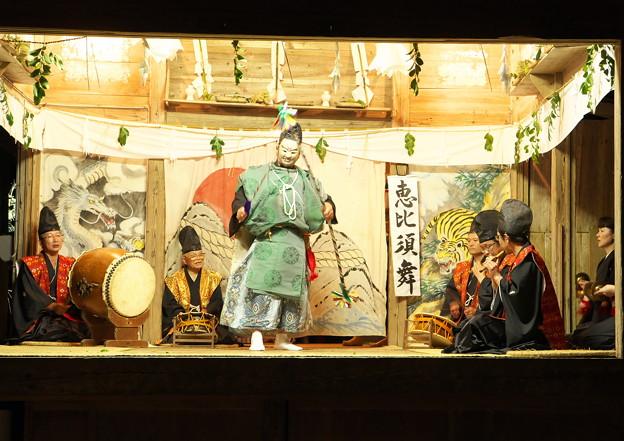 久見神楽(9)恵比須舞(鯛釣り)(1)