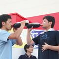 Photos: 夏まつり(11) コカコーラ飲み競争?