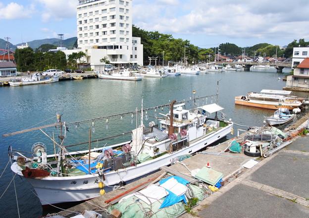 港の風景(35) 八尾川河口風景