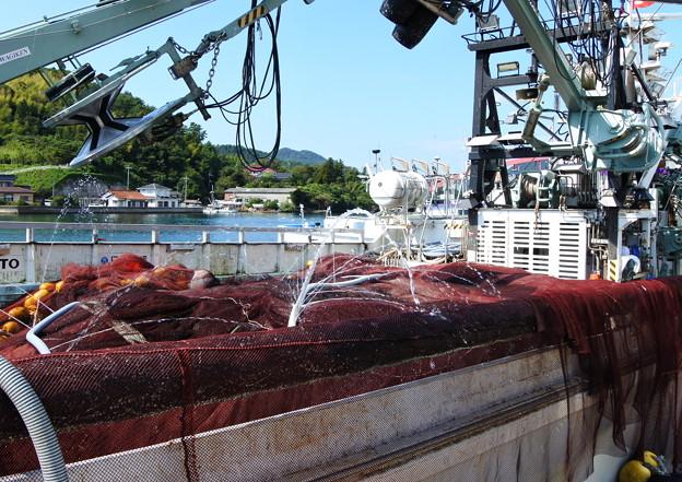 港の風景(38) 巾着網本船(2)