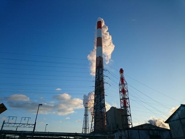 写真: 1月30日(火)の煙突