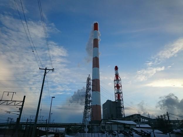 写真: 1月31日(水)の煙突