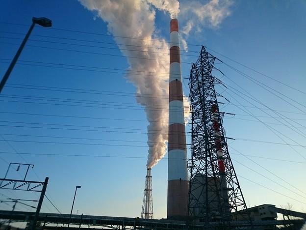 写真: 2月2日(金)の煙突