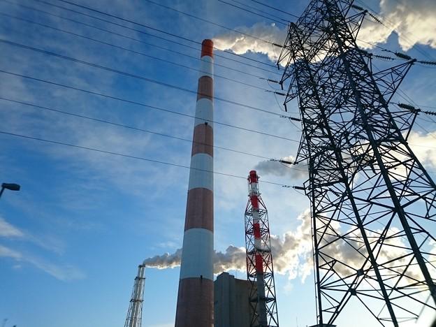 写真: 2月7日(水)の煙突