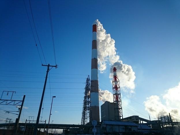 写真: 2月21日(水)の煙突
