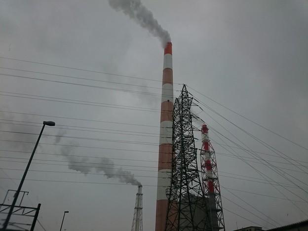 3月1日(木)の煙突南東の風、曇り、〇℃